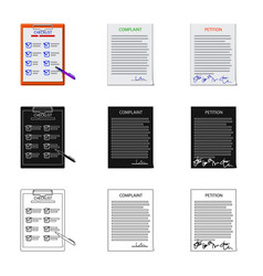Design form and document icon set of vector