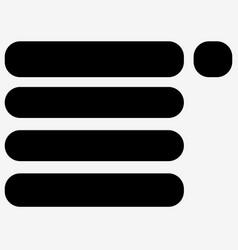 Drop down menu symbols for webdesign front-end vector