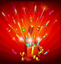 Firecracker Explosion vector