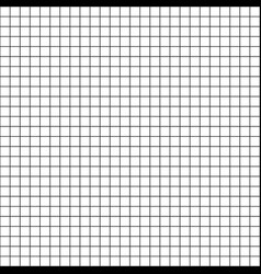 graph paper grid white background seamless pattern vector image