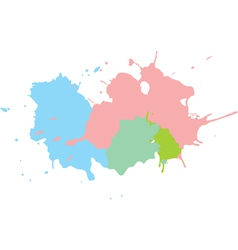 paint splats background vector image
