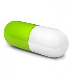 pill illustration vector image vector image
