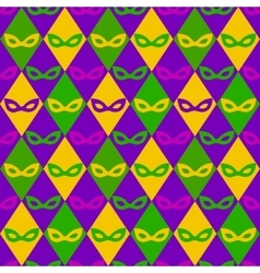 carnival seamless pattern vector image