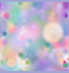 colourful magic light abstract bokeh in soft vector image