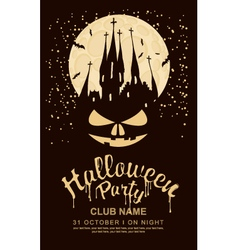 halloween party vector image