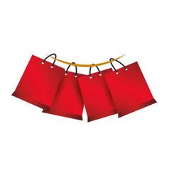 Shopping bags gift vector