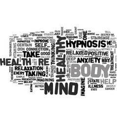 Why mind over matter matters text word cloud vector