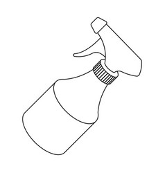 spraybarbershop single icon in outline style vector image