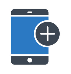 Add mobile vector