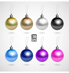 evening balls vector image