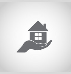 homes for sale icon vector image