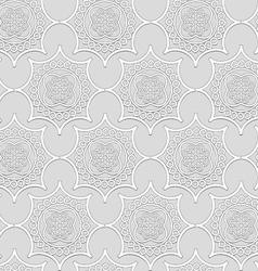 -ornamental volume white plaster moldings vector