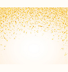 abstract background with many falling golden tiny vector image