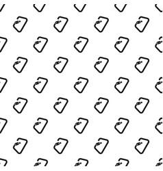 carabine tool pattern seamless vector image