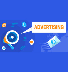 colourful of advertising as a vector image