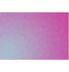 duocolor gradient geometric with triangle shape vector image