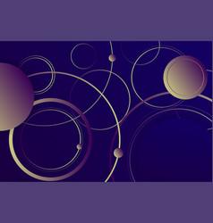 hipster landing page 3d dark violet neon colors vector image