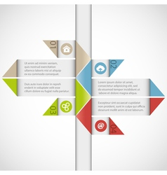 infographics 25 vector image