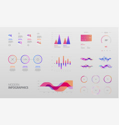 Infographics design and marketing icons can vector