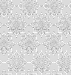 -ornamental volume white plaster moldings vector