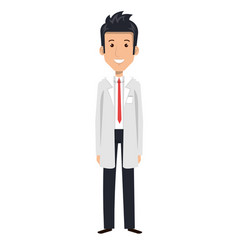 Professional man of health vector
