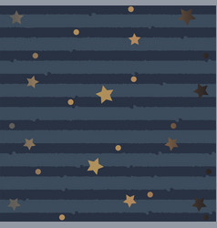 seamless pattern with stars and stripes vector image