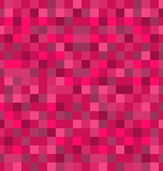 Abstract Mosaic Seamless Pattern Background in Red vector image