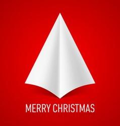 MERRY CHRISTMAS Corner paper 07 vector image vector image