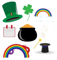 st parties icon vector image vector image