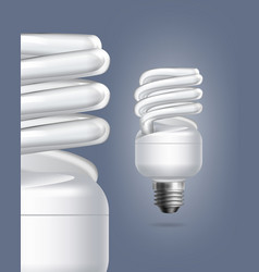 fluorescent lamps vector image