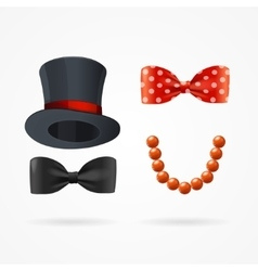Gentleman and Lady Man Woman Sign vector image vector image
