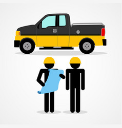 A construction workers vector