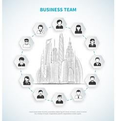 Business team vector