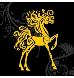 horse design - vector image