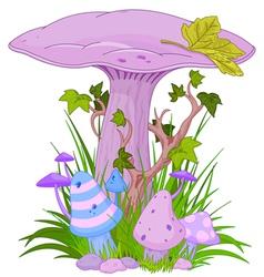 Magic mushroom 001 vector