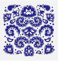 pattern maker tatar ornament elements vector image
