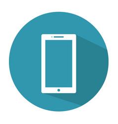 smartphone icon mobile icon vector image