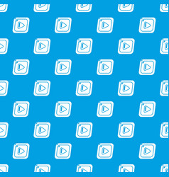 video pattern seamless blue vector image