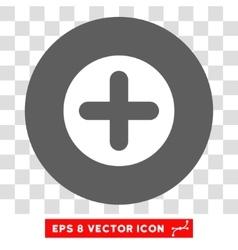 Create Round Eps Icon vector image