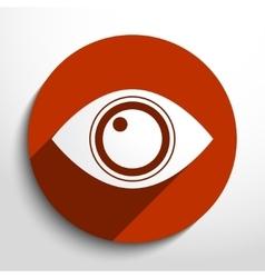 eye web icon vector image