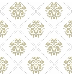 Seamless background of green and gray colors vector image