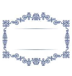 antique vintage lace background frame vector image vector image