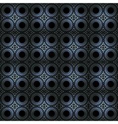 Dark and elegant seamless ornament vector image