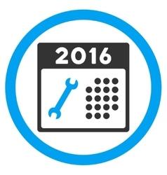 2016 service organizer icon vector
