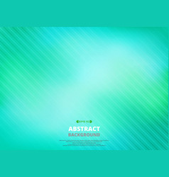 art of line pattern in green gradient background vector image