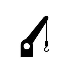 cargo crane icon vector image