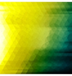 Colored abstract geometric background grunge vector