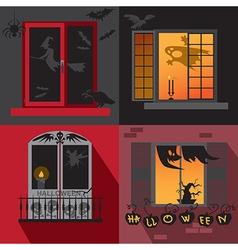Halloween holiday Windows vector