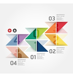 Modern Design template can be used for infograph vector