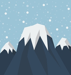 Mountain peak vector
